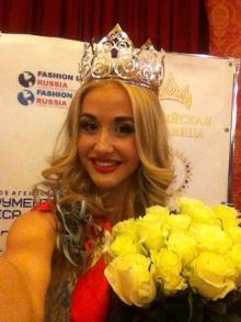 Финалистка конкурса Мисс Рязань-2012 завоевала титул Российская красавица 2014