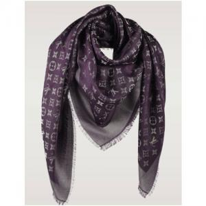 monogram shawl amarante 640